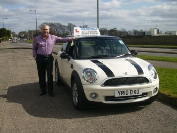 Learning in a BMW Mini Cooper will help make your driving experience easy and fun....